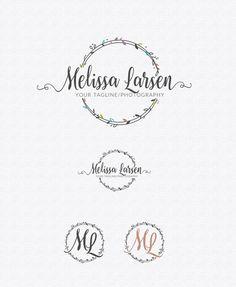 Logo Design  Photography Watermark  Custom by lovedesigning