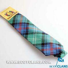 Clan Sutherland Old Ancient Tartan Tie
