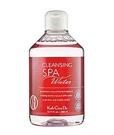 Koh Gen Do Cleansing Spa Water: This multipurpose cleanser takes off every last bit of makeup without stripping skin dry.