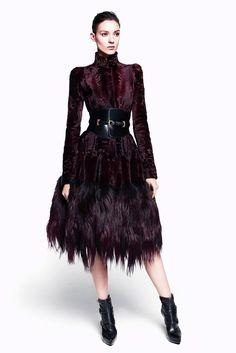 Alexander McQueen Pre-Fall 2012 Collection Photos - Vogue