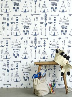 New Kid's Wallpapers by Hibou Home - Petit & Small