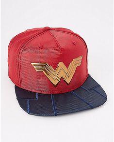 Ballistic Wonder Woman Snapback Hat - DC Comics - Spencer's