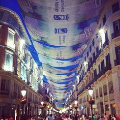 Málaga in Málaga, Andalucía