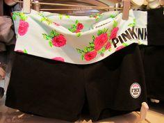 VS PINK yoga shorts