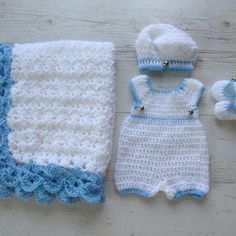 newborn boy romper crochet free pattern - Recherche Google                                                                                                                                                      More