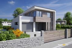 Moderní patrový dům LOTUS | ProjektyDomu24.cz