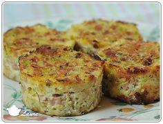Pour le Tour en Cuisine n°330, j'ai choisi des timbales de courgette à la mozzarella sur le blog Ca ne sent pas un peu le brûlé là? Mes timbales ne sentaient pas du tout le brûlé, bien au con…