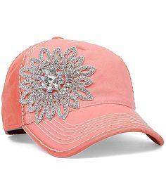 Olive  Pique Bling Hat at Buckle.com