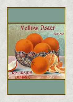 Illustrations of various fruits and vegetables done in a traditional,  vintage antique style of the historic labels that used to appear on  shipping containers of fresh farm produce. They have been created  with coordinating colors, styles and subjects so you can mix & match  to create your own groupings and sets.