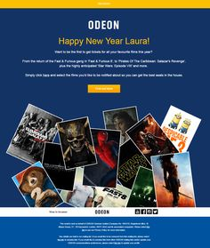 personalized new year email from odeon emailmarketing email marketing personalized newyear