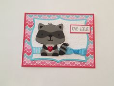 Love Bandit You Stole My Heart Card/ by ChrisiesCollection on Etsy