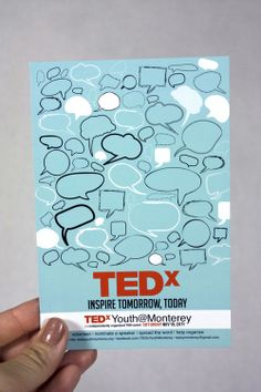 TEDxYouth@Monterey on Behance