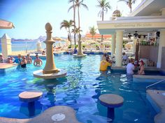 RIU Palace Cabo San Lucas Swim Up Bar
