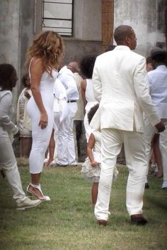 Beyonce Blue & Jay At Solange's Wedding In New Orleans Louisiana 16.11.2014