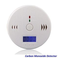 Humorous Lcd Co Sensor Work Alone Built-in 85db Siren Sound Independent Carbon Monoxide Poisoning Warning Alarm Detector Clients First Security & Protection