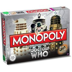"""REC-RE-ATE! REC-RE-ATE!"": 'Doctor Who' Celebrates 50 with Special Edition Monopoly"