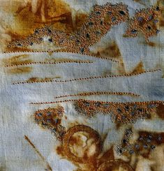 Rusted fabric