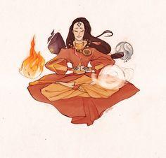 Avatar Yangchen. by ~ANST2010 on deviantART