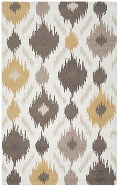 Mello Yello Rug -- low-key and well textured rug perfect for a bohemian or shabby chic themed room! | cort.com