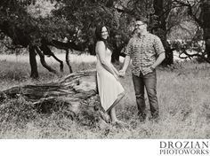 Rustic outdoor Engagement Photography