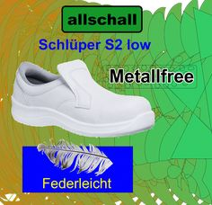 Schlüpfer weiss S2 - Neu Modelle - Allschall GmbH Slip On, Sneakers, Shoes, Fashion, Protective Gloves, Tennis, Moda, Slippers, Zapatos