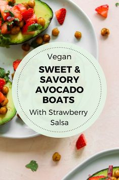 Enjoy sweet and savory in this simple breakfast salad packed with protein and whole foods. Vegan, gluten-free, oil-free, and grain-free. Perfect for a fun and flavorful light breakfast for warmer months! | Vegan Breakfast Recipes | Flora & Vino