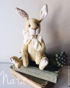Handmade Teddy bunny / Мишки Тедди ручной работы. Ярмарка Мастеров - ручная работа. Купить Кролик. Handmade. Лимонный, тедди, тедди кролик