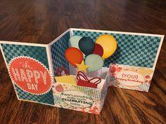 Z-fold box card
