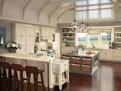 Farmhouse+Country+Kitchen+Designs | Modern Farmhouse Maple Kitchen Design - Luxury Kitchen Design Ideas ...