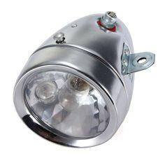 Motocycle Bicycle Friction Generator Dynamo Headlight Tail Light 12V - US$19.99