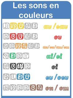 affichages français - (page 3) - la Fouine en clis, sons complexes en couleur