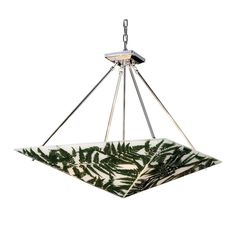 Fern leaf pendant available Statements In Tile/Lighting/Kitchens/Flooring.