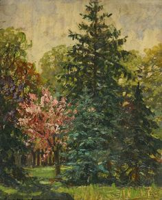 Forest - Pál Szinyei-Merse  Hungarian 1845 - 1920 Art Boards, Landscapes, My Arts, Painters, Watercolors, Wallpapers, Artists, Czech Republic, Impressionism