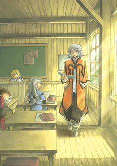 Tales of Symphonia. ah, the nostalgia.