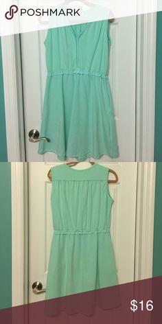 Cute summer dress Has pockets! Very cute dress from Elegantees. Worn twice. Fits a little bigger for a medium. Dresses