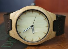 #ValentinesDay Gift For Boyfriend Wood Watches Custom Engraving Bamboo by PhilsGiftShop http://etsy.me/2jvN7wr via @Etsy