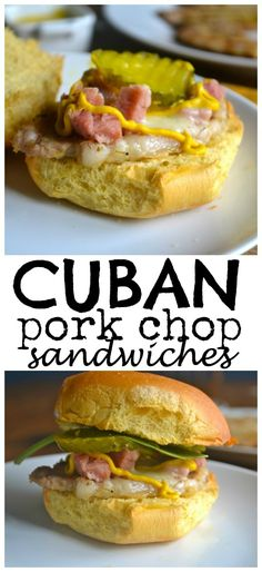 Cuban Pork Chop Sandwiches – And taking back opening day of baseball
