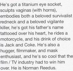 He is #NormanReedus