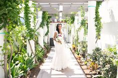 The bride almost ready to say her vows! | Anika London Photography