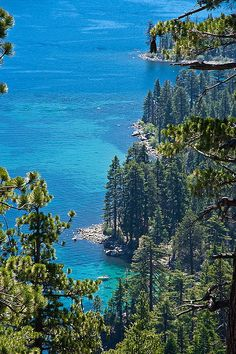 Turquoise, Lake Tahoe, California photo via linda