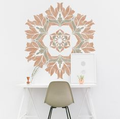 Mandala Painting Stencil - Geometric Stencil For DIY Decor Projects - Reusable Stencil
