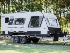 The CV5934QB Avida Emerald caravan with Explorer pack stands tall and strong.