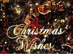 I wish everyone a joyful and merry christmas