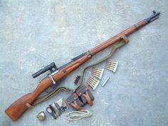 The Mosin-Nagant is a Russian bolt-action, magazine fed rifle. It is most commonly chambered in...