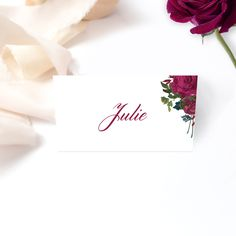 Also available are invitations, details cards, welcome sign, menus, seating chart and much more. Wedding Suite, Rose Wedding, Invitation Suite, Invitations, Seating Charts, Wedding Stationery, Bliss, Place Cards, Sign
