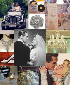 Golden Era Inspiration: Add 50s Glamour to your Wedding