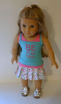 Be You  3 piece outfit  to fit your 18 inch by MiniMeDollyDivas, $25.00