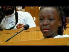 Conmovedor discurso de una niña contra la violencia policial en Charlotte (EEUU)
