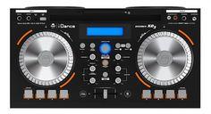iDance Party høyttaler med tilkopling for mikrofon, gitar etc. | Satelittservice tilbyr bla. HDTV, DVD, hjemmekino, parabol, data, satelittutstyr Party Speakers, Audio
