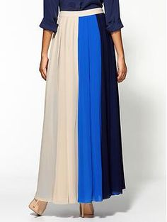 Ark & Co. Color Block Skirt | Piperlime